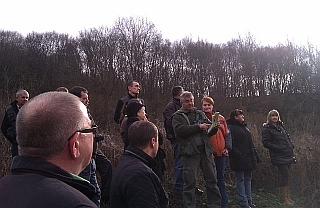 derenk tour with ranger Imre Mihalik